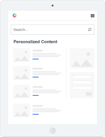 search and website personalization